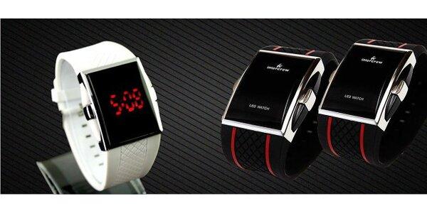 Skvelé LED silikónové hodinky - super darček pod stromček