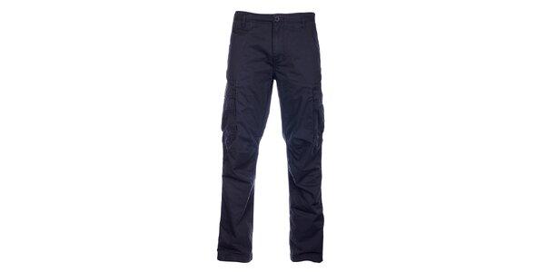 Pánske čierne športové nohavice Loap