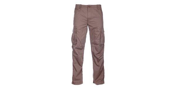 Pánske svetlo hnedé športové nohavice Loap