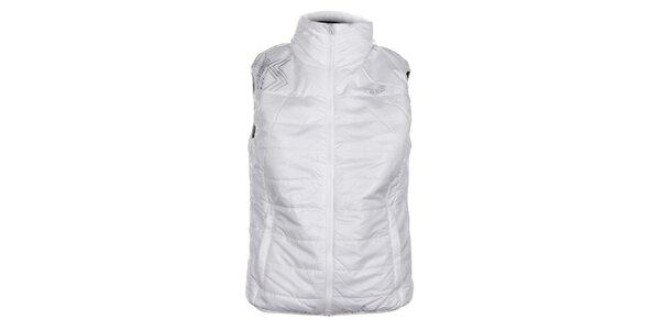 Dámska biela prešívaná vesta Loap