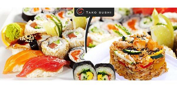 Exkluzívny Tako sushi set na donášku