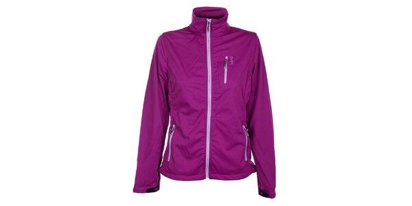 Dámska purpurová softshellová bunda Loap