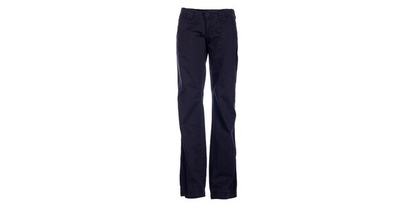 Dámske tmavo šedé špotrové nohavice Loap