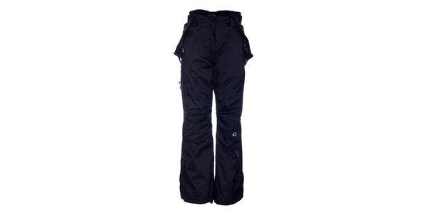 Dámske čierne lyžiarske nohavice Loap