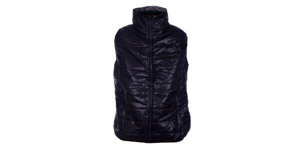 Dámska čierna prešívaná vesta Loap
