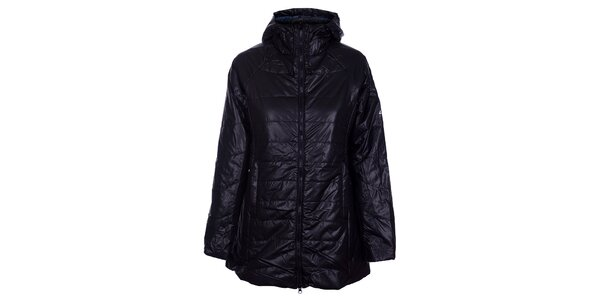 Dámsky čierny prešívaný kabát Loap