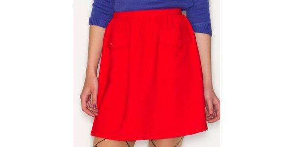 Dámska červená sukňa Pepa Loves
