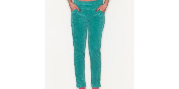 Dámske zelené nohavice Pepa Loves