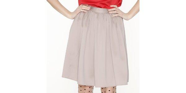Dámska béžová sukňa Pepa Loves