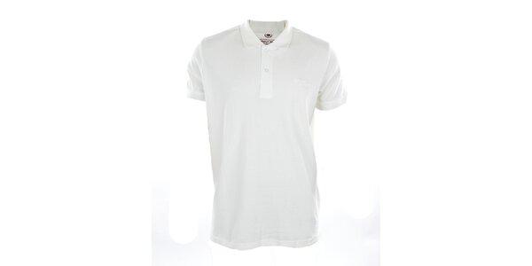 Pánske biele polo tričko Timeout