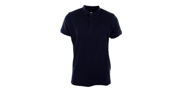 Pánske tmavo modré polo tričko Timeout