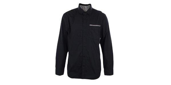 Pánska čierna košeľa Timeout