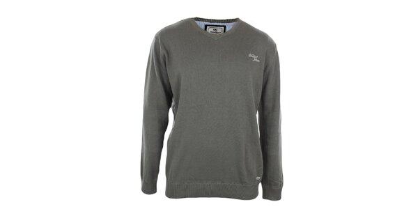 Pánsky šedý sveter Timeout