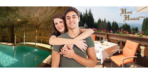 Jarný luxusný pobyt-neobmedzený wellness+tenis pre DVOCH v 4* hoteli HUSÁRIK.
