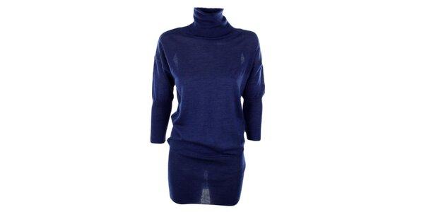 Dámsky dlhý modrý sveter GAS