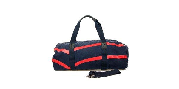 Modrá taška s červenými pruhmi GAS