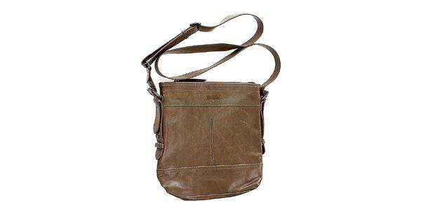 Dámska hnedá kabelka s popruhom Levis