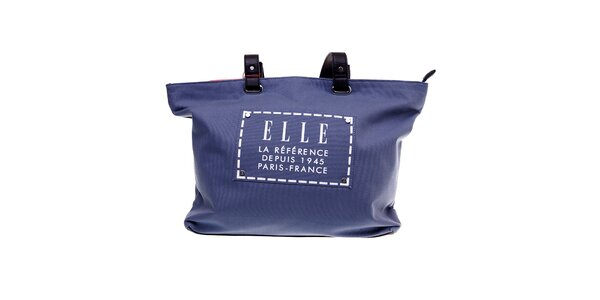 Dámska modrá plážová taška Elle