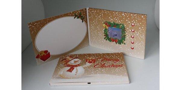 Vianočná videopohľadnica