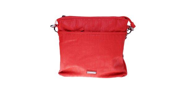 Dámska malá červená kabelka Elle