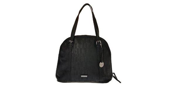 Dámska čierna kabelka Elle