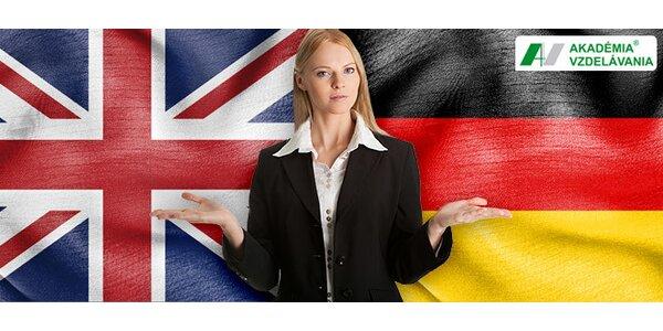 Kurz anglickej konverzácie a kurz nemčiny pre začiatočníkov