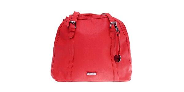 Dámska červená kabelka Elle