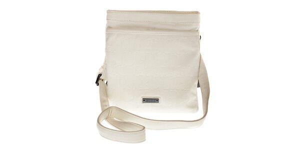 Dámska biela mini kabelka Elle