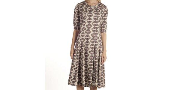 Dámske šaty s kvetinovým vzorom Laga