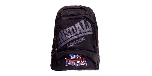 Čierny batoh Lonsdale