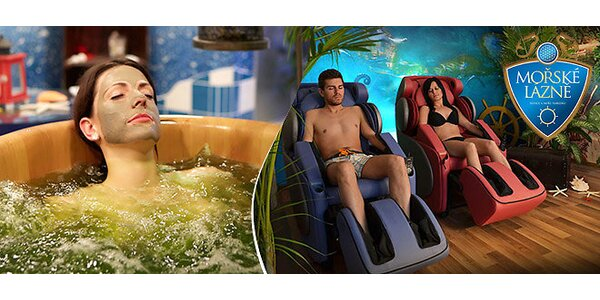 VIP relaxácia pre dvoch v Rožnovských morských kúpeľoch