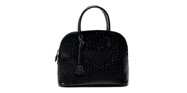Dámska čierna kabelka s bodkami Renata Corsi