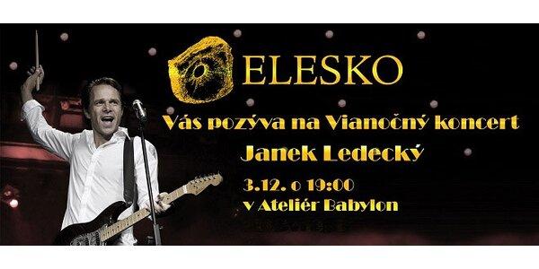 Vianočný koncert Janka Ledeckého