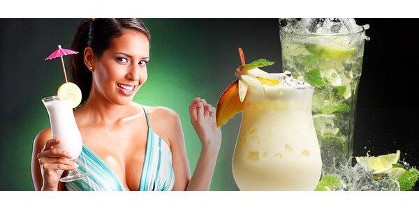 Osviežujúci koktejl v Cafe MAMBO podľa vlastného výberu