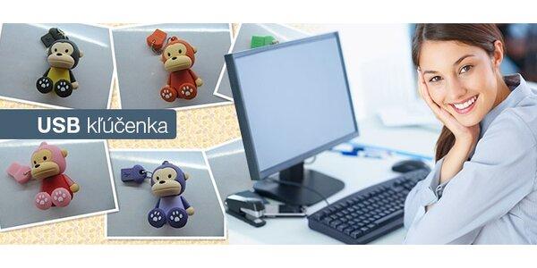 2 GB USB kľúč v tvare opičky