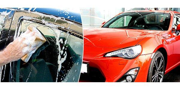 Ručné umytie auta s voskovaním kvalitným voskom Autoglym