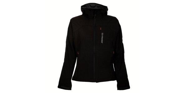 Dámska čierna softshellová bunda Trimm Berga