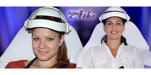 Prístrojová masáž pri únave očí alebo migréne