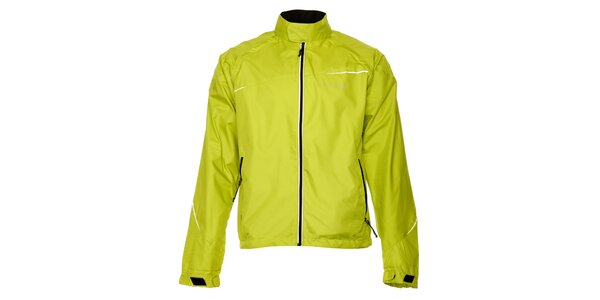 Dámska zelená outdoorová bunda a zároveň vesta Trimm