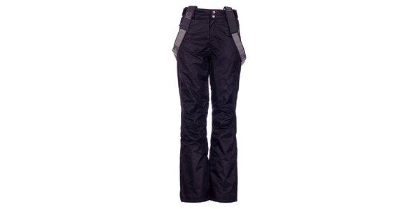 Dámske čierne lyžiarske nohavice Fundango s membránou