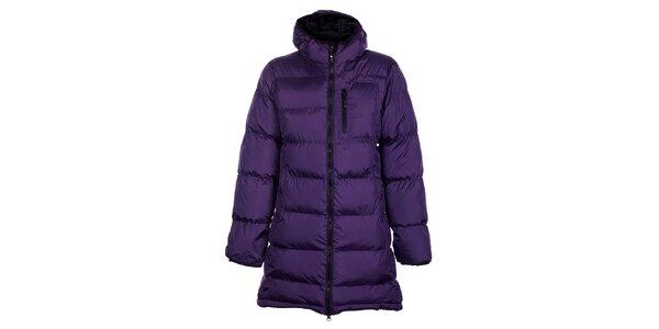 Dámsky fialový zimný prešívaný kabátik Fundango