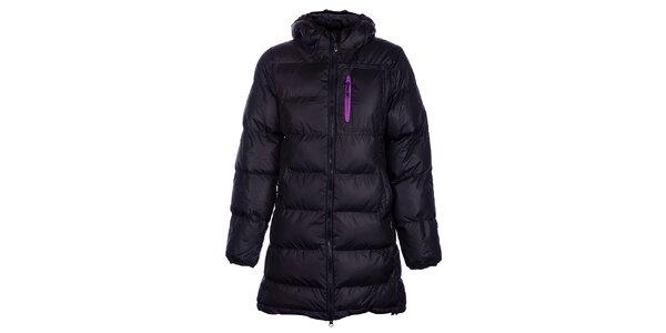 Dámsky čierny zimný prešívaný kabátik Fundango