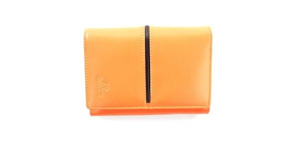 Dámska broskyňová peňaženka Menbur