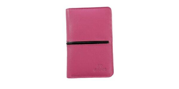 Dámska ružová peňaženka Menbur