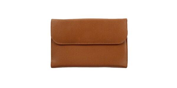 Unisexová hnedá peňaženka Menbur