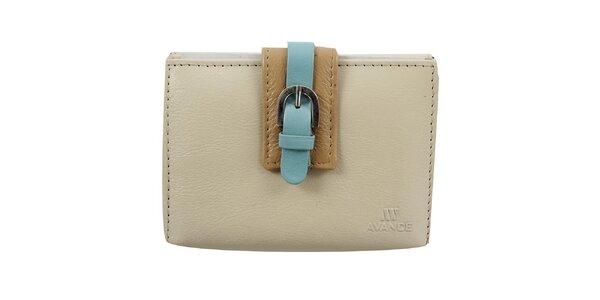 Dámska peňaženka v camel farbe Menbur