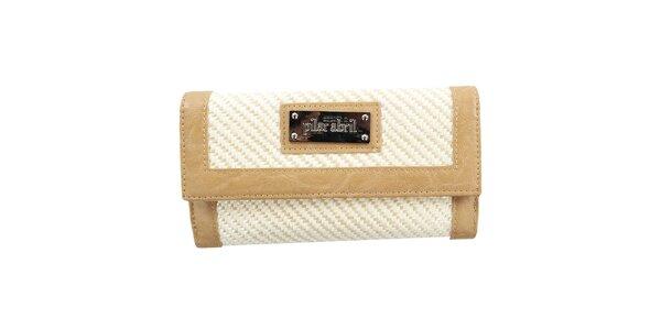 Dámska smotanová peňaženka Menbur