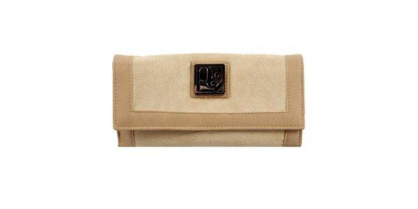 Dámska béžová peňaženka Menbur