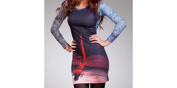 Dámske šaty s vážkou Culito from Spain