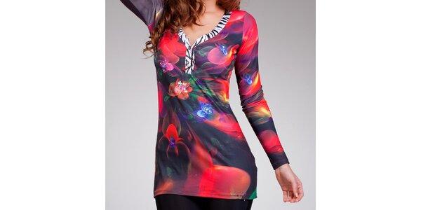 Dámske farebné šaty s motívom Culito from Spain